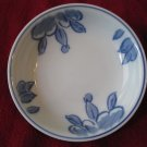 Williams Sonoma IDG Blue/White Dish Plate Dessert Fruit Sauce Cereal