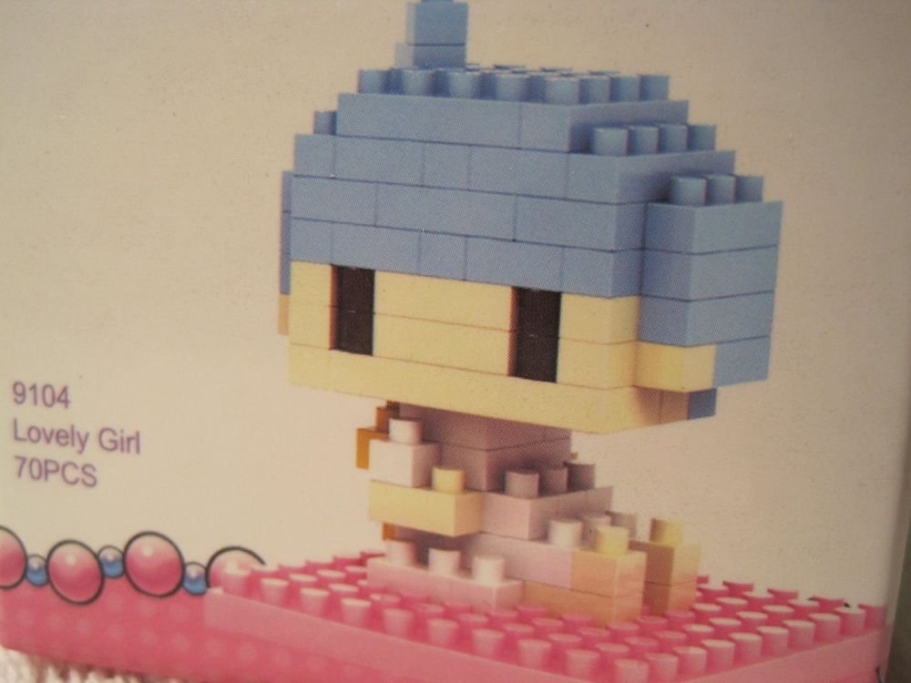 LOZ Diamond Nano Brick Block Micro Hello Kitty Lovely Girl-Kiki USA Seller 9104