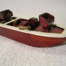 Ash Creek Wood Boat Model Hand Crafted Collectors Limited Edition Nautical
