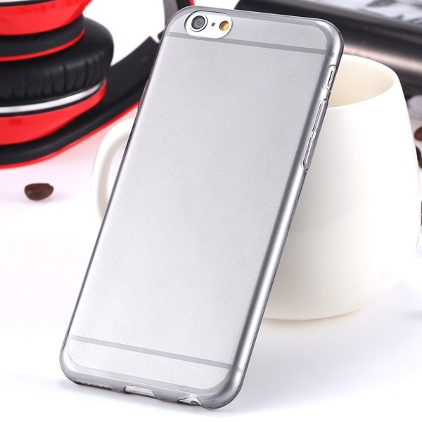 I6 Super Flexible Clear Tpu Case For Iphone 6 4.7Inch Slim Crystal 2024442787-2-Thin black