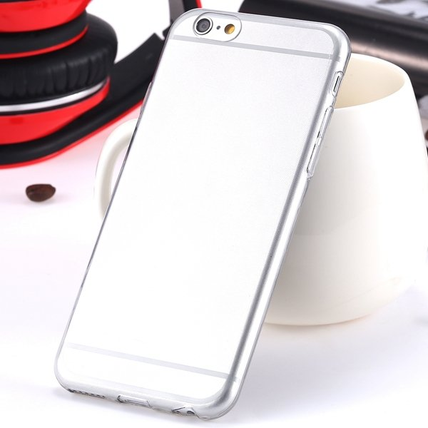 I6 Super Flexible Clear Tpu Case For Iphone 6 4.7Inch Slim Crystal 2024442787-9-Thin gray
