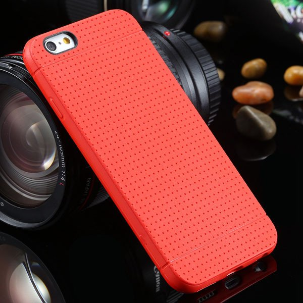 New Arrival Portable Silicone Case For Iphone 6 4.7Inch Soft Back  2031448558-3-red