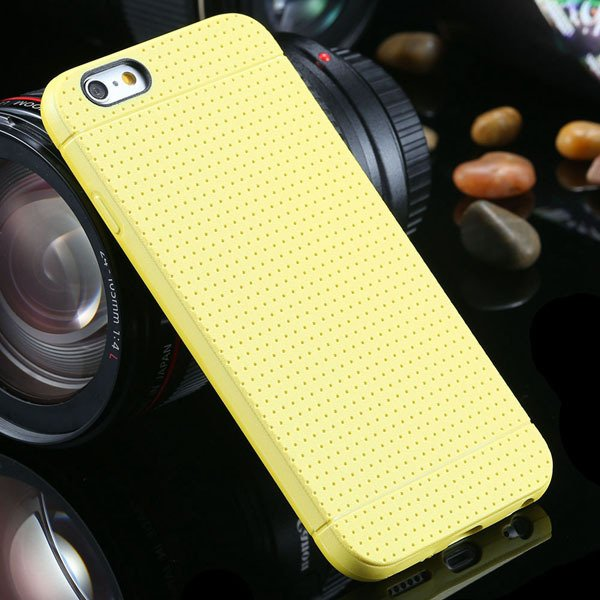 New Arrival Portable Silicone Case For Iphone 6 4.7Inch Soft Back  2031448558-5-yellow