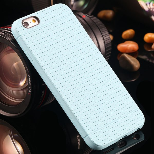 New Arrival Portable Silicone Case For Iphone 6 4.7Inch Soft Back  2031448558-6-light blue
