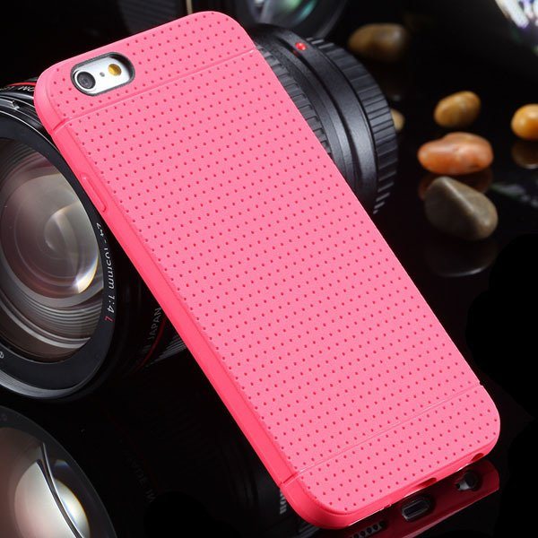 New Arrival Portable Silicone Case For Iphone 6 4.7Inch Soft Back  2031448558-7-hot pink