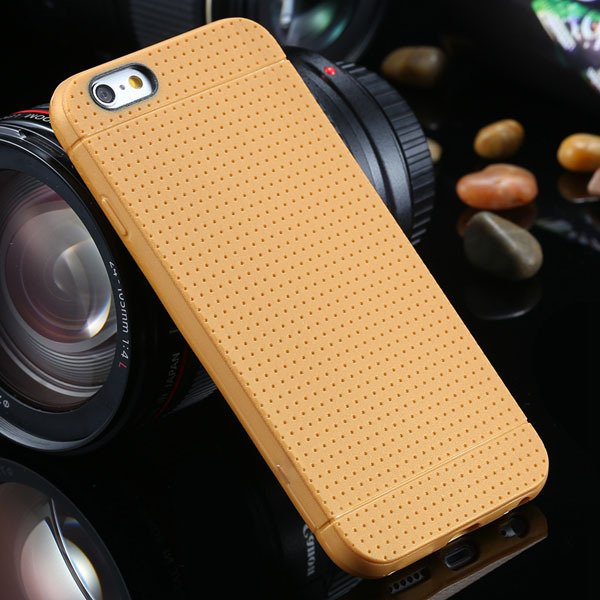New Arrival Portable Silicone Case For Iphone 6 4.7Inch Soft Back  2031448558-8-orange