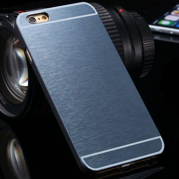 Brandnew Aluminum Metal Brush Back Cover For Iphone 6 4.7'' Slim P 2053374569-7-navy