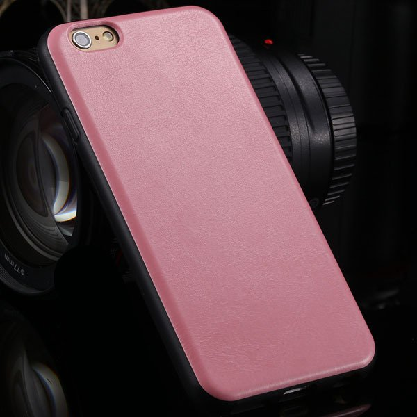 Greatly Flexible Slim Back Case For Iphone 6 4.7'' Phone Skin With 2046832835-6-pink