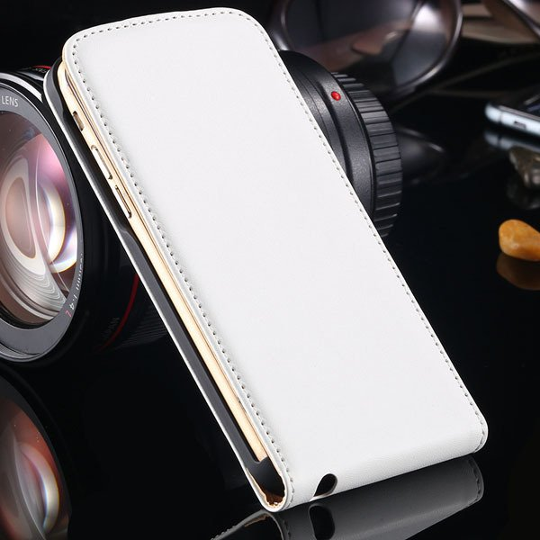 For Iphone 6 Flip Case Genuine Leather Cover For Iphone 6 4.7Inch  32221034920-2-white