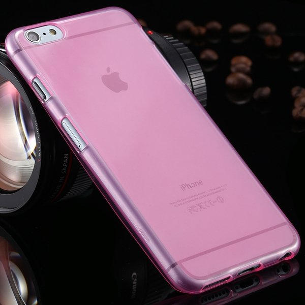 Newest Full Protect Flip Open Transparent Case For Iphone 6 Plus 5 2053095096-2-pink
