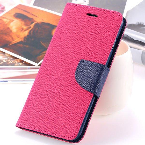 Flip Cover For Iphone 6 Plus 5.5'' Phone Housing Bag Full Protecti 2052387415-9-hot pink