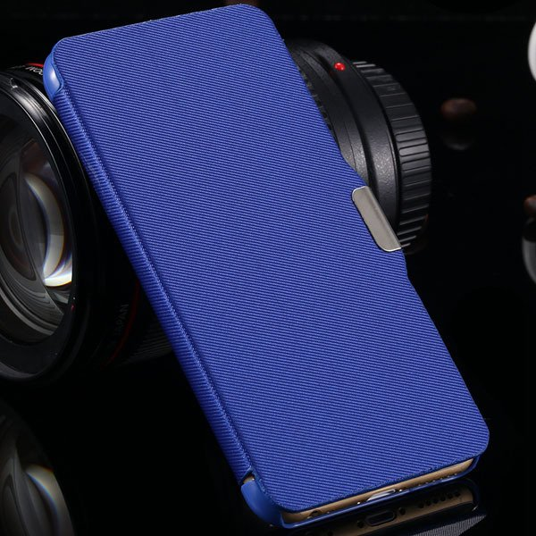 For Iphone 6 Full Protect Pu Leather Wallet Case For Iphone 6 4.7' 2038708999-4-blue