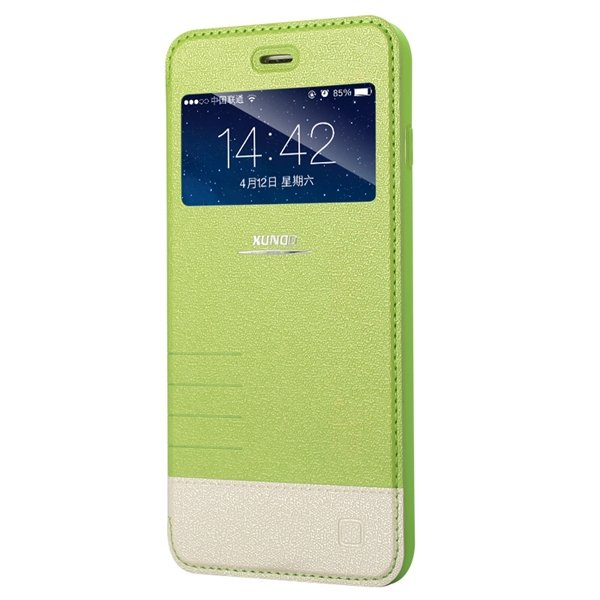 I6 Plus View Case Luxury Flip Wallet Display Cover For Iphone 6 Pl 32216222155-1-green