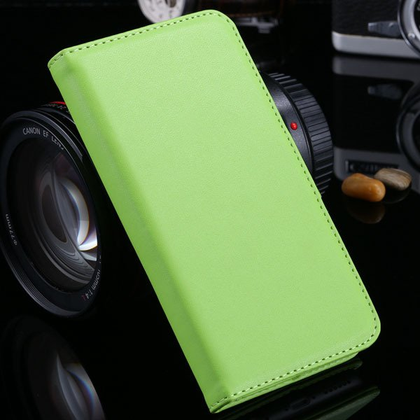I6 Plus Wallet Book Case Pu Leather Cover For Iphone 6 Plus 5.5Inc 32213815412-7-green