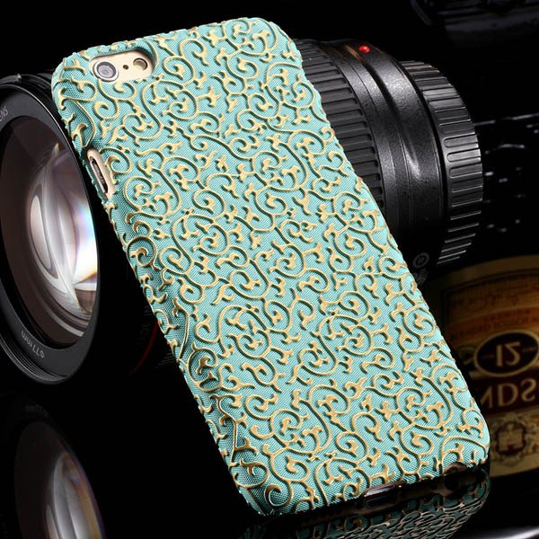 Luxury Royal Palace Pu Leather Cover For Iphone 6 4.7Inch Back Pho 32242498014-5-green