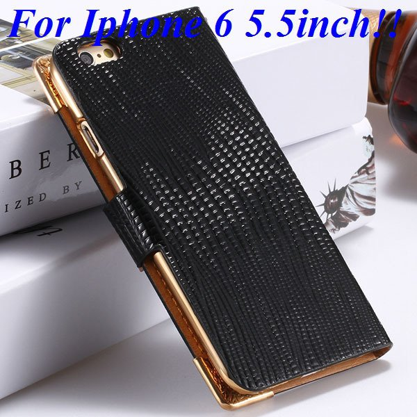 I6 Luxury Bling Diamond Case Flip Wallet Pu Leather Cover For Ipho 32232380276-6-black for plus