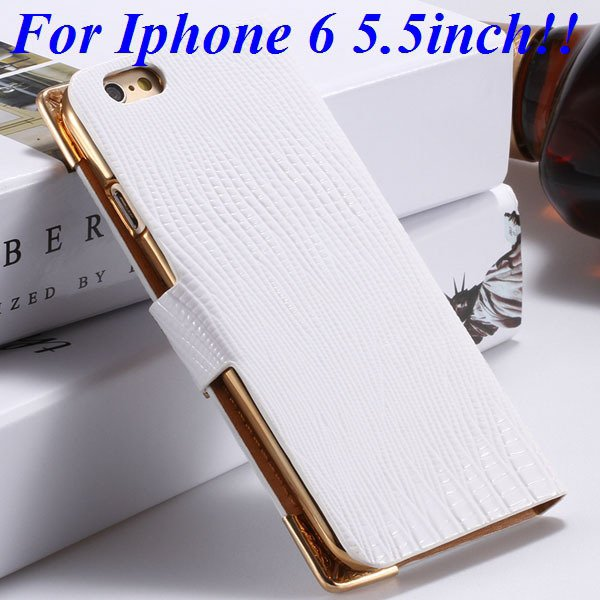 I6 Luxury Bling Diamond Case Flip Wallet Pu Leather Cover For Ipho 32232380276-7-white for plus