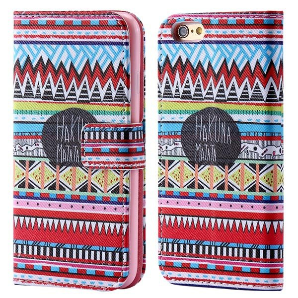 Cultural Mat Pattern Wallet Cover For Iphone 6 4.7Inch Full Case S 32247639513-6-Small Cultural