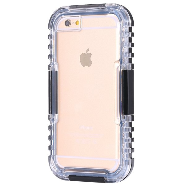 I6 Waterproof Case Surfing Swimming Underwater Clear Cover For Iph 32281108987-1-black