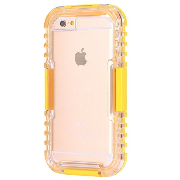 I6 Waterproof Case Surfing Swimming Underwater Clear Cover For Iph 32281108987-5-yellow