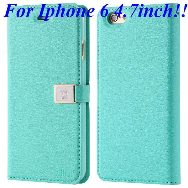 I6/6 Plus Premium Pu Leather Case Original Ailun Branded Full Cove 32229520892-4-mint for iphone 6