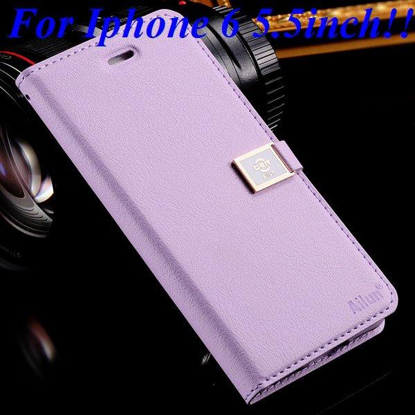 I6/6 Plus Premium Pu Leather Case Original Ailun Branded Full Cove 32229520892-14-purple for plus