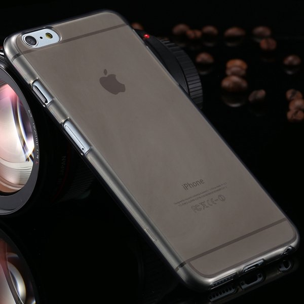 I6 Plus Clear Case Full Flip Cover For Iphone 6 Plus 5.5Inch Soft  2053095298-1-black