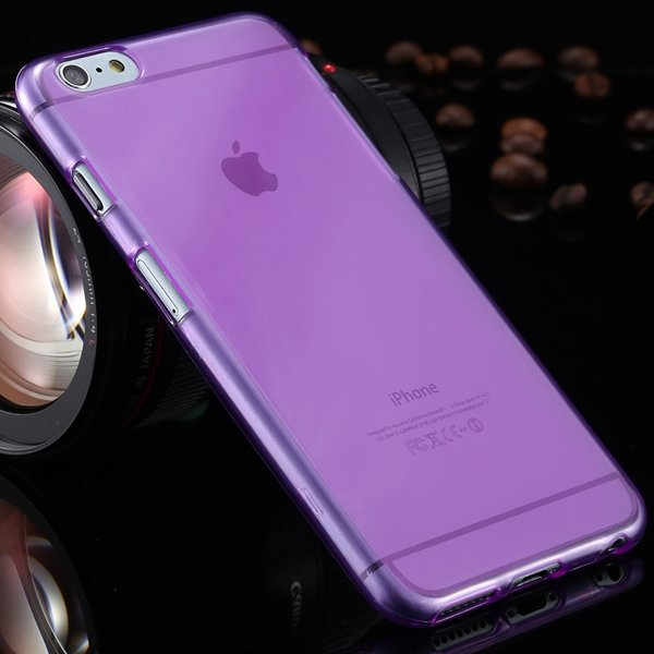 I6 Plus Clear Case Full Flip Cover For Iphone 6 Plus 5.5Inch Soft  2053095298-9-purple