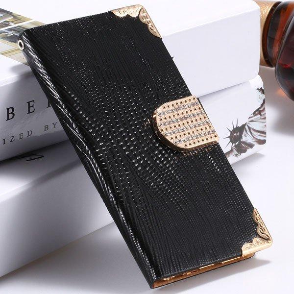 I6 Plus Bling Diamond Case Flip Wallet Cover For Iphone 6 Plus 5.5 32231890571-1-black