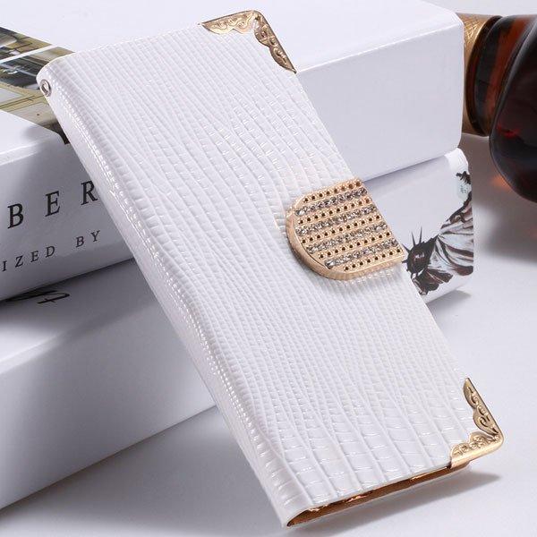 I6 Plus Bling Diamond Case Flip Wallet Cover For Iphone 6 Plus 5.5 32231890571-2-white