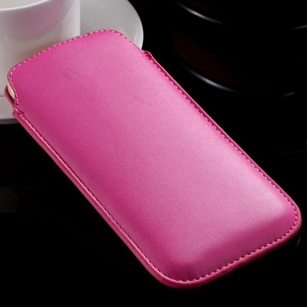 I6 Universal Mini Phone Case For Iphone 6 4.7Inch Pu Leather Cover 32261117883-7-hot pink
