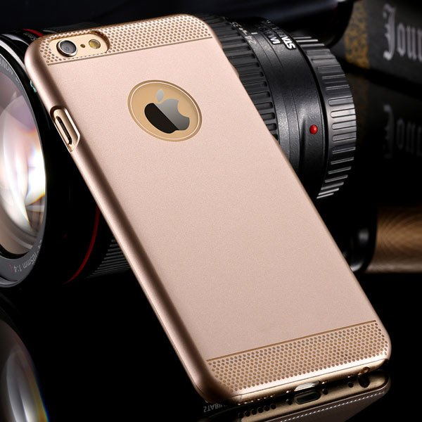I6 Hard Pc Case Champagne Gold Back Cover For Iphone 6 4.7Inch Ult 32261536023-2-simple gold