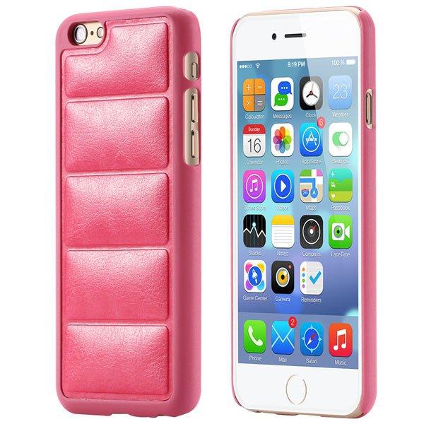 Luxury Sofa Grain Back Phone Case For Iphone 6 Plus 5.5Inch Pu Lea 32242241611-5-hot pink