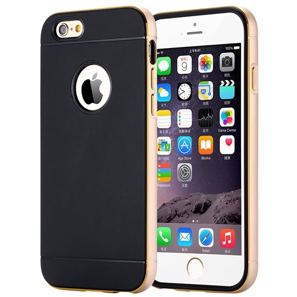 I6 Aluminum Case Metal Frame Cover For Iphone 6 4.7Inch Ultra Slim 32261068132-3-gold