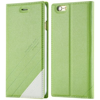 I6 Magnetic Closed Case Premium Pu Leather Cover For Iphone 6 4.7I 32268138847-4-green