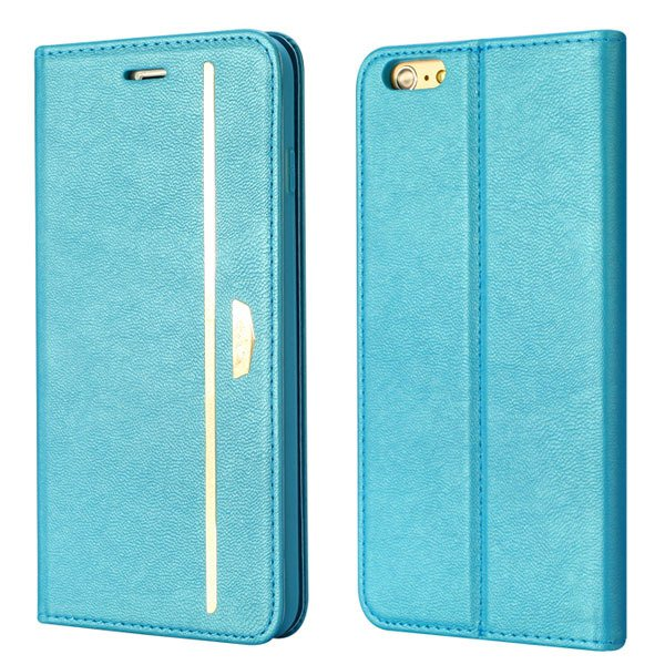 Comprehensive Wallet Cover For Iphone 6 Plus 5.5Inch Flip Phone Ba 32216224441-2-blue