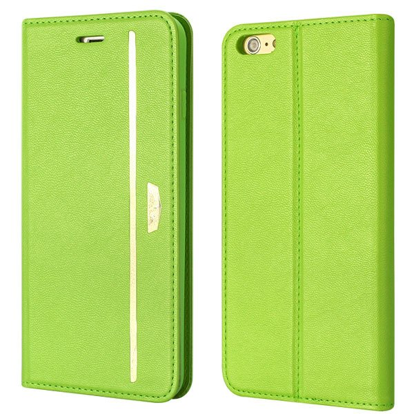 Comprehensive Wallet Cover For Iphone 6 Plus 5.5Inch Flip Phone Ba 32216224441-5-green