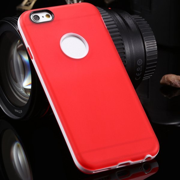 2014 Newest Clear Back Case For Iphone 6 4.7'' Cover Soft Transpar 2041294218-1-red
