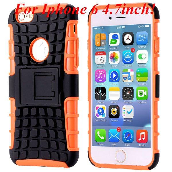 I6/6 Plus Heavy Duty Armor Case For Iphone 6 4.7Inch/5.5Inch Plus  32295600799-3-I6 orange