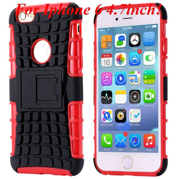 I6/6 Plus Heavy Duty Armor Case For Iphone 6 4.7Inch/5.5Inch Plus  32295600799-4-I6 red
