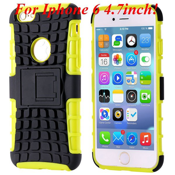 I6/6 Plus Heavy Duty Armor Case For Iphone 6 4.7Inch/5.5Inch Plus  32295600799-7-I6 yellow
