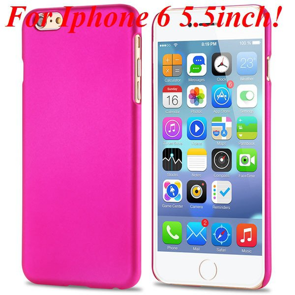 I6/6 Plus Slim Case Mat Lubricating Smooth Back Cover For Iphone 6 32281037773-5-rose for 6 Plus