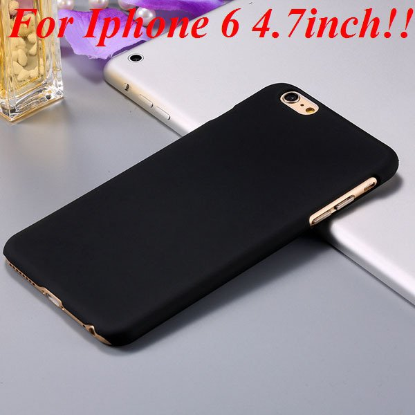 I6/6 Plus Slim Case Mat Lubricating Smooth Back Cover For Iphone 6 32281037773-6-black for iphone 6