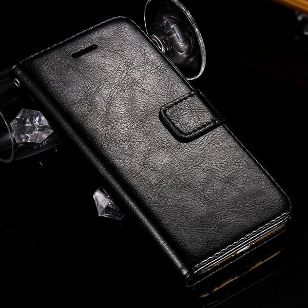 I6 Luxury Pu Leather Case Full Body Protect Cover For Iphone 6 4.7 32282629865-1-black