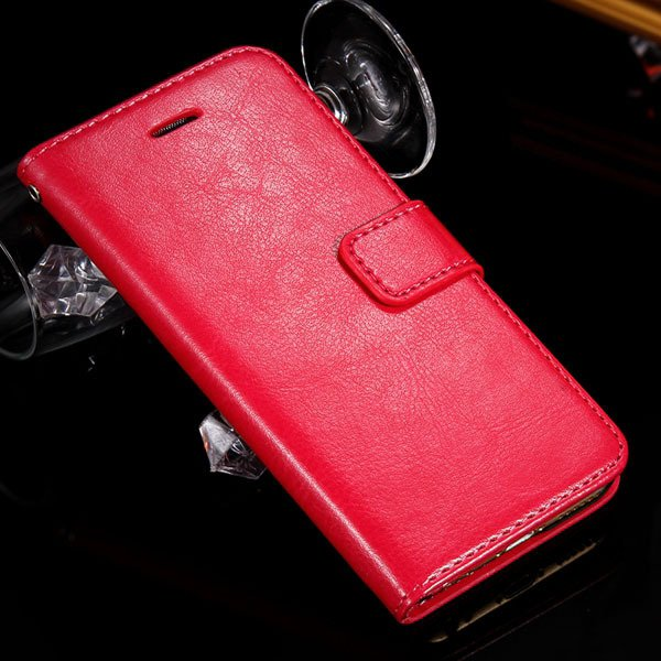 I6 Luxury Pu Leather Case Full Body Protect Cover For Iphone 6 4.7 32282629865-4-rose
