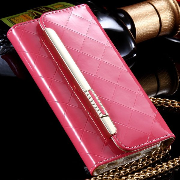 Paris Fashion Grid Pattern Pouch Bag Cover For Iphone 6 4.7Inch Le 32254271349-1-pink