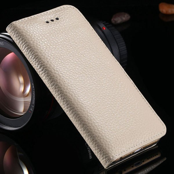 I6 Plus Genuine Leather Case For Iphone 6 Plus 5.5Inch Mobile Phon 32236429737-6-beige