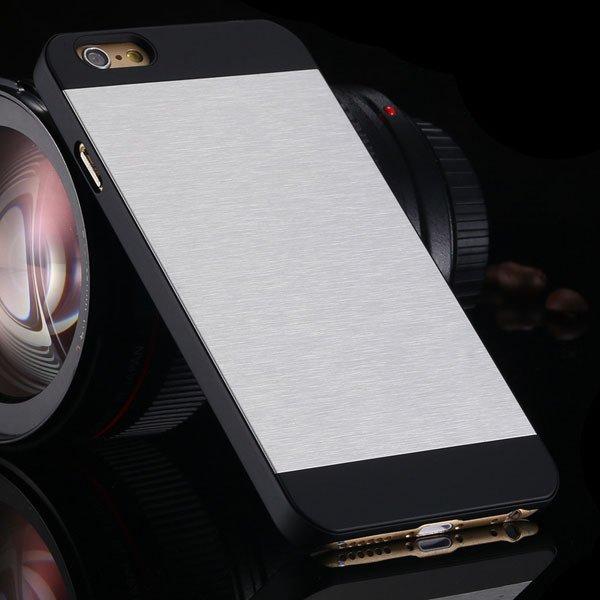 I6 Plus Aluminum Metal Brush Hard Cover For Iphone 6 Plus 5.5Inch  32231722508-1-silver
