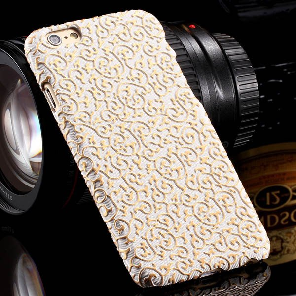 Noble Royal Palace Special Structure Pu Leather Cover For Iphone 6 32242498722-2-white