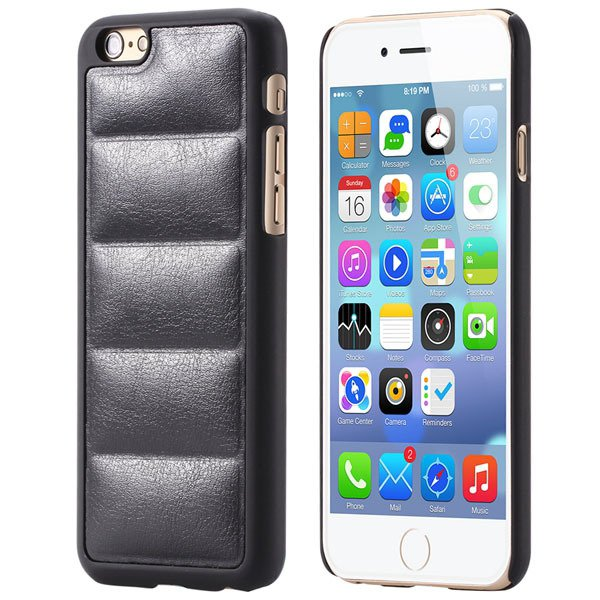 Ultra Slim Sofa Grain Soft Case For Iphone 6 4.7Inch Pu Leather Ph 32242323360-1-black